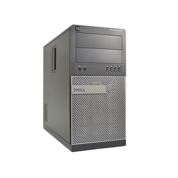 Dell Optiplex 990 Core i5 3.1GHz CPU 8GB RAM 500GB HDD DVD-RW Win 10 Pro Tower PC (Refurbished)