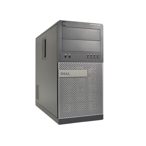 Dell Optiplex 990 Intel Core i7-2600S 2.8GHz 2nd Gen CPU 8GB RAM 2TB HDD Windows 10 Pro Minitower Computer (Refurbished)