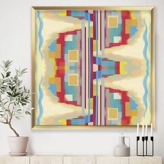 Link to Designart 'Abstract II single' Mid-Century Modern Framed Art Print Similar Items in Art Prints