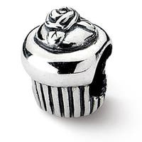 Sterling Silver Reflections Cupcake Bead (4mm Diameter Hole)