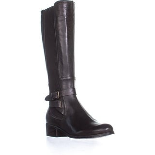 Corso Como Baylee Flat Riding Boots, Coffee Leather - 9 us