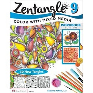 Zentangle 9 Expanded Wrkbk Edition - Design Originals