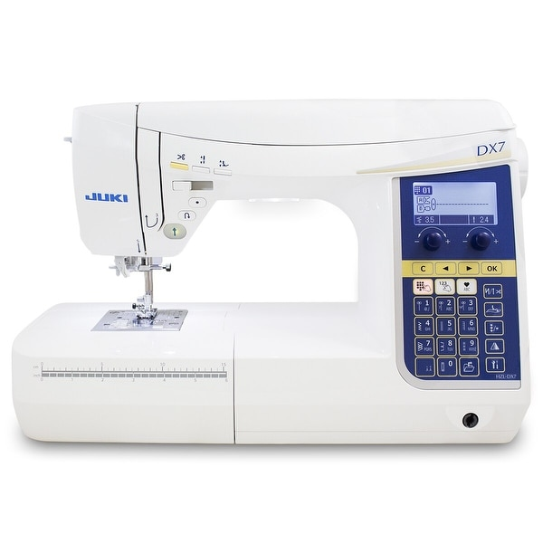 "Juki HZL-DX7 Computerized Sewing and Quilting Machine - 1"" x 1"" x 1"""