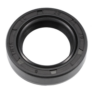 Oil Seal, TC 20mm x 30mm x 7mm, Nitrile Rubber Cover Double Lip - 20mmx30mmx7mm