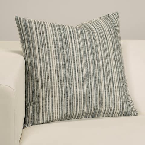 Bungalow Stripe Designer Throw Pillow