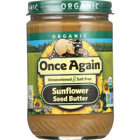Once Again - No Salt And Sugar Free Sunflower Butter ( 12 - 16 OZ)