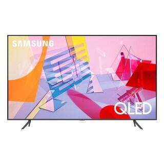 """Samsung QN75Q60TA 75"""" QLED 4K UHD Smart TV - Steel"""