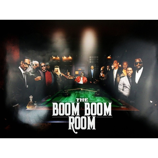 Rap Hip Hop Poster Music Legends (18x24) - Multi-Color