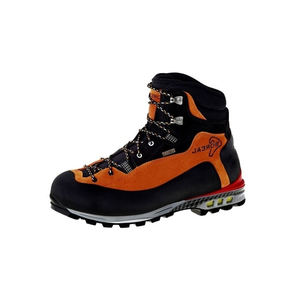 Boreal Climbing Boots Adult Brenta Lightweight Black Orange