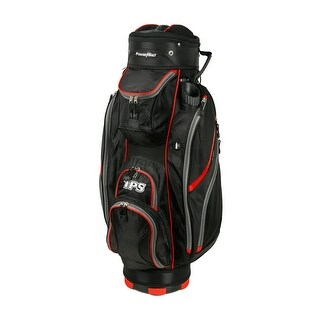 Powerbilt TPS 5400 Black/Red Cart Golf Bag