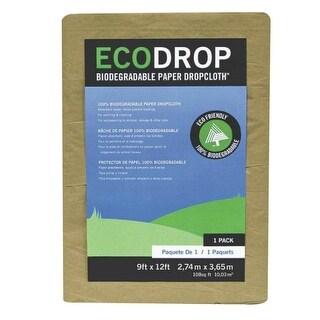 Trimaco 02101 Paper Drop Cloth, Brown, 9' x 12'