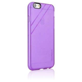 Naztech Apple iPhone 6 (4.7 Inch) Jelly Ultra Thin TPU Stylish and Protective Shock Absorbing Cell Phone Case - Purple