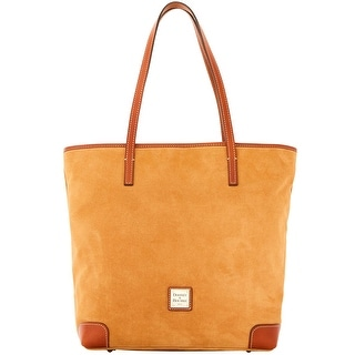 Dooney & Bourke Suede Everyday Tote (Introduced by Dooney & Bourke at $248 in Sep 2016) - Tan