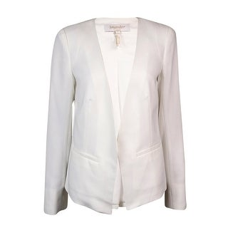 Laundry by SHELLI SEGAL Women's Solid Open-Front Blazer - Optic White