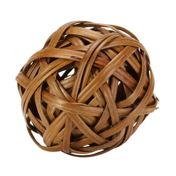 Nearly Natural Decorative Balls - Set of 12 - Brown