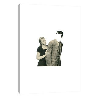 "PTM Images 9-105954  PTM Canvas Collection 10"" x 8"" - ""Blind Date"" Giclee Men and Women Art Print on Canvas"