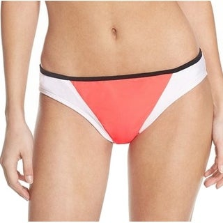 Zella NEW Pink White Black Women's Size Large L Bikini Bottom Swimwear