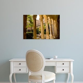 Easy Art Prints John & Lisa Merrill's 'Franciscan Monastery' Premium Canvas Art