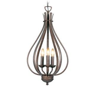 Woodbridge Lighting 24006 Beaconsfield 3 Light Pendant