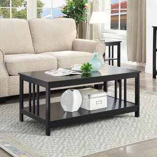 Link to Porch & Den Miro Mission Coffee Table Similar Items in Living Room Furniture