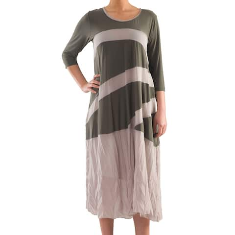 Everyday's Jersey Dress - Sizes 14, 16, 18 & 20 - Plus Size Clothing - La Mouette Collection