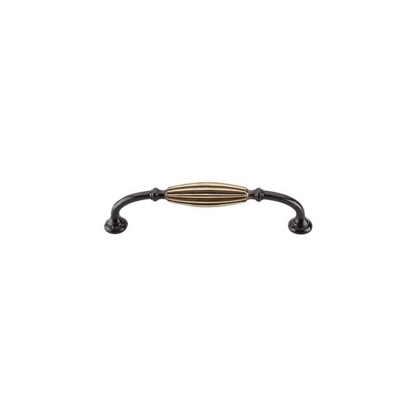 """Top Knobs M146 Tuscany 5"""" Center to Center Handle Cabinet Pull - dark antique brass"""