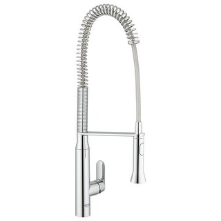Grohe 32 951 K7 Pre-Rinse Kitchen Faucet with 2-Function Toggle Sprayer