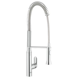 Grohe 32 951 K7 Pre Rinse Kitchen Faucet With 2 Function Toggle Sprayer