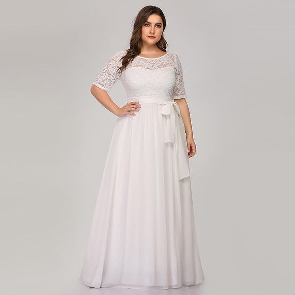 Shop Ever-Pretty Women\'s Plus Size Lace Mother of the Bride ...