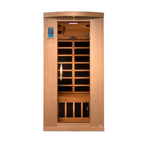 1 Person Reserve Edition Near Zero EMF Infrared Sauna GDI-8010-01