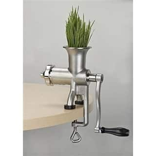 Miracle MJ445 Manual Wheatgrass Juicer - STAINLESS STEEL|https://ak1.ostkcdn.com/images/products/is/images/direct/890a79a42f6f10f0ef4a5be3cfe032797f963c34/Miracle-MJ445-Manual-Wheatgrass-Juicer.jpg?impolicy=medium
