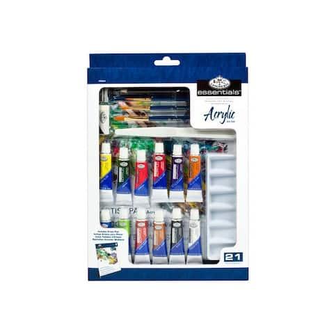Royal brush rd844 acrylic painting 21pc box set