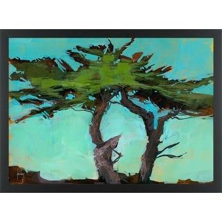 Easy Art Prints Paul Bailey's 'Cypresses' Premium Canvas Art