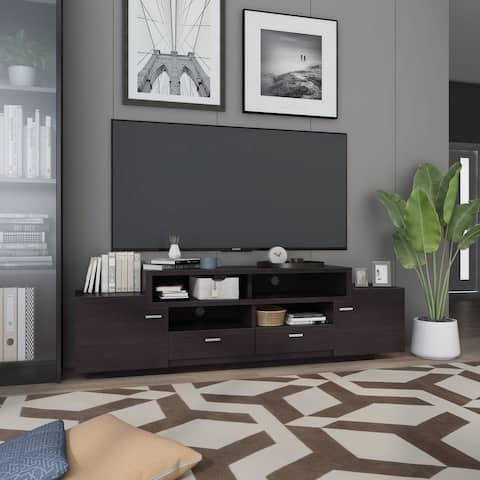 Furniture of America Peyson 72-inch Multi-functional Storage TV Console