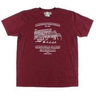 American Apparel Mens Casual Shirt Cotton Graphic - 2XL