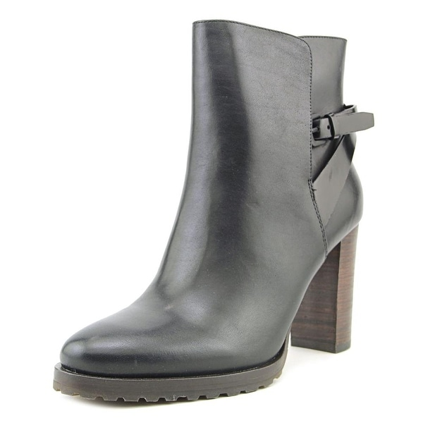 Elie Tahari Jenna Round Toe Leather Bootie
