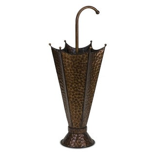 "30"" Fun Novelty Double-Take Iron Umbrella Stand"
