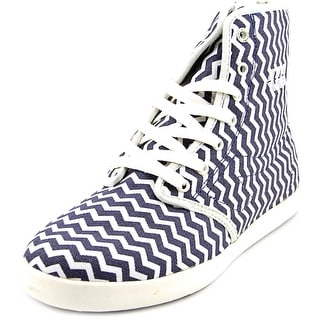 Movmt Marcos Hi Round Toe Canvas Sneakers