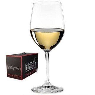 Riedel 7416-05 Vinum Viognier / Chardonnay Wine Glasses - Buy 6 Get 8 Set|https://ak1.ostkcdn.com/images/products/is/images/direct/89103ee60b318420a15cc1d102ed90beb69fcd6e/Riedel-7416-05-Vinum-Viognier---Chardonnay-Wine-Glasses---Buy-6-Get-8-Set.jpg?_ostk_perf_=percv&impolicy=medium