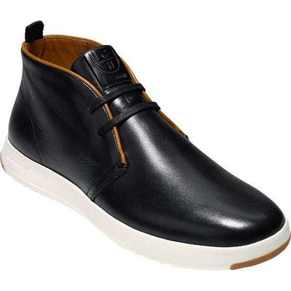 GrandPro Chukka Sneaker Black Leather