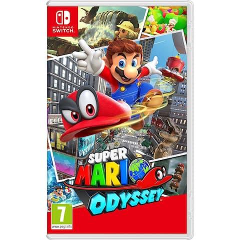 Super Mario Odyssey (Nintendo Switch) - Black