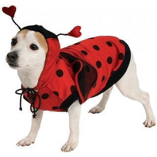 Pet Ladybug Red Halloween Costume Large