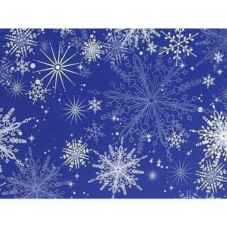 """Snowy Night 24""""x417' Roll Gift Wrap"""