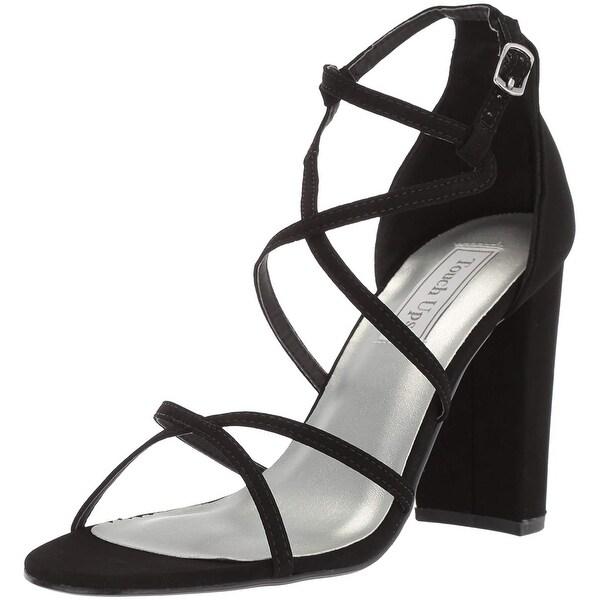 Touch Ups Women's Peyton Heeled Sandal, Black, Size 8.0 - 8