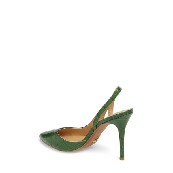 5b20cd316ffe Shop Michael Kors Womens Eliza Leather Pointed Toe SlingBack D-orsay ...