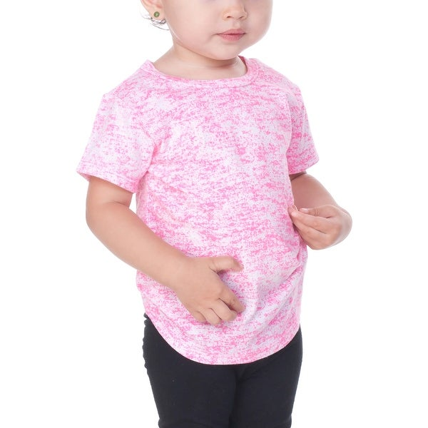 Kavio! Infants Static Jersey Print Crew Neck Short Sleeve