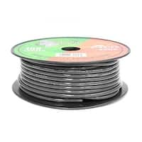 8 Gauge Black Ground Wire 100 ft. OFC