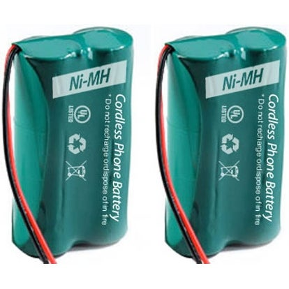 Replacement AT&T 6010 Battery for CL82209 / CL82659 Phone Models (2 Pack)