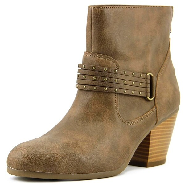 Aerosoles Longevity Women Round Toe Synthetic Gray Ankle Boot
