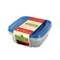 Square Food Storage Container Set - Pack of 24